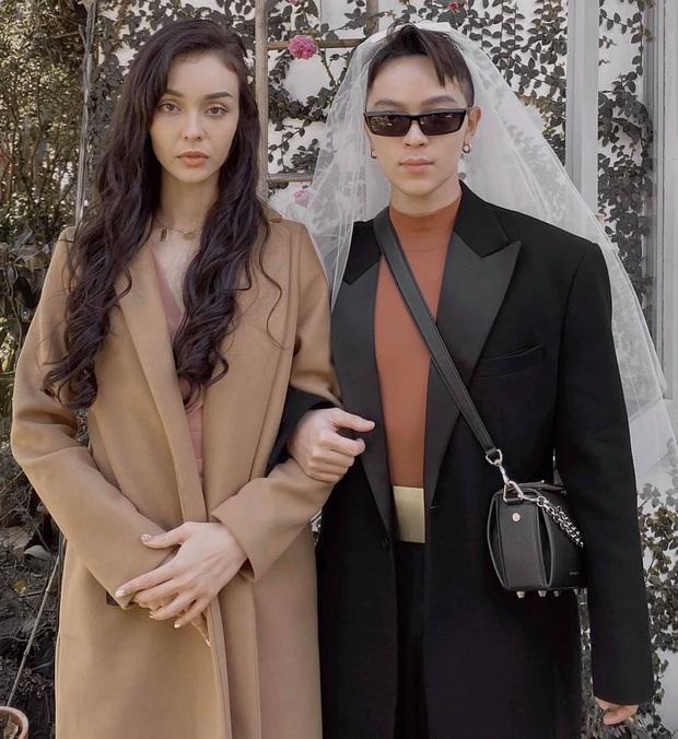 Nào chỉ mỗi cô dâu Tóc Tiên diện váy cưới đẳng cấp, dàn khách mời cũng dát đồ hiệu rất ra gì này nọ - Ảnh 1.