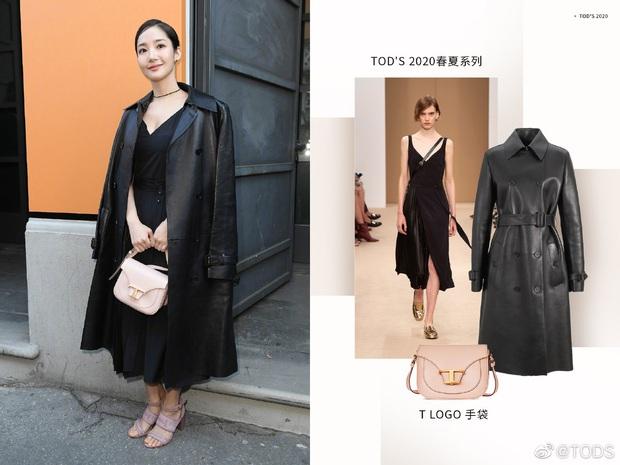 Milan Fashion Week: Park Min Young bỗng hóa một mẩu vì bộ cánh dìm dáng, Han Ye Seul diện váy sến nhưng vẫn đẹp - Ảnh 4.