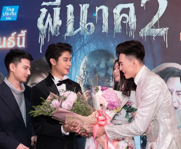 Mạc Trung Kiên xuất hiện bảnh bao, đầy tự tin trong các sự kiện giải trí Thái Lan - Ảnh 2.