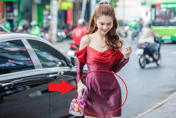 Nhìn sự cách biệt váy hiệu – váy chợ của Ngọc Trinh mới thấy photoshop có tác dụng thần kỳ thế nào - Ảnh 3.