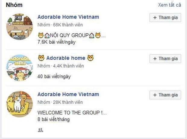 Cơn sốt mang tên Adorable Home làm điên đảo giới trẻ, hàng triệu lượt tải, rất nhiều hội nhóm đang đua theo hot trend này! - Ảnh 4.