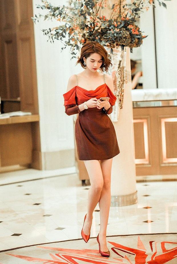Nhìn sự cách biệt váy hiệu – váy chợ của Ngọc Trinh mới thấy photoshop có tác dụng thần kỳ thế nào - Ảnh 4.