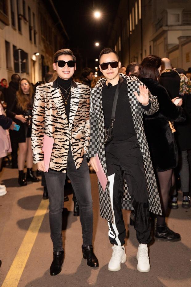 Dự Milan Fashion Week mà không có Ngọc Trinh, Vũ Khắc Tiệp quẩy đồ tự tin lắm nhưng đẹp hay không thì chưa chắc à nha - Ảnh 4.