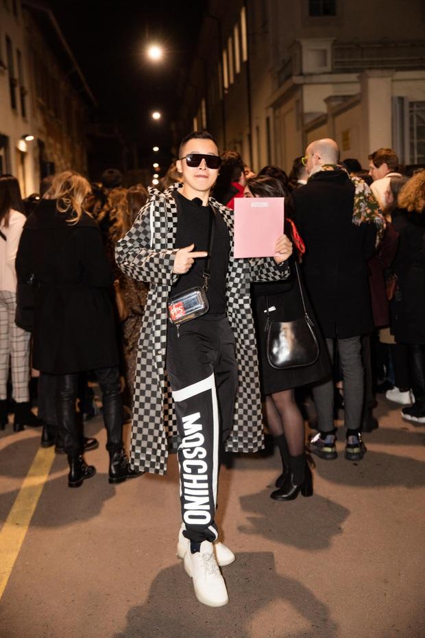 Dự Milan Fashion Week mà không có Ngọc Trinh, Vũ Khắc Tiệp quẩy đồ tự tin lắm nhưng đẹp hay không thì chưa chắc à nha - Ảnh 6.
