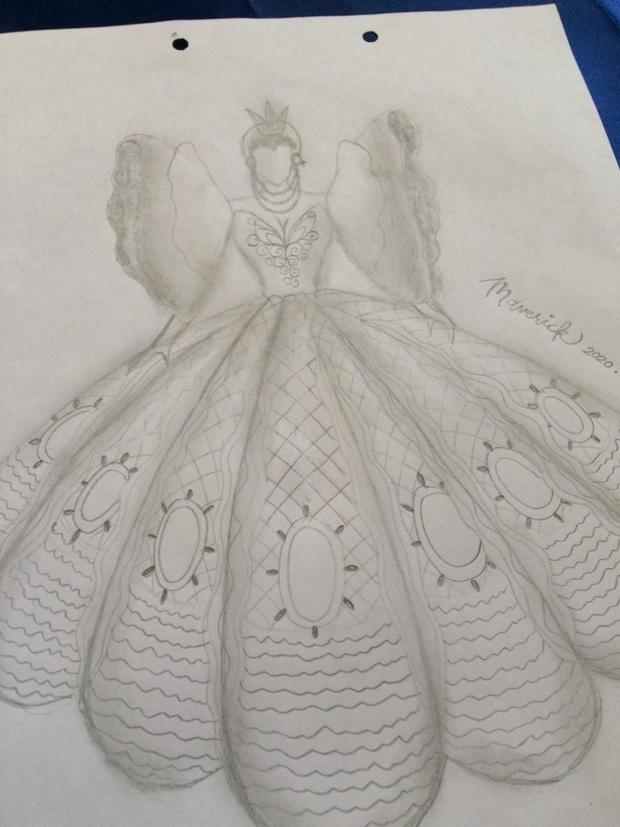 Anh trai nhà người ta: Tự tay thiết kế váy Cinderella siêu xinh cho em gái đi prom cuối năm dù không học chút gì về thời trang - Ảnh 2.