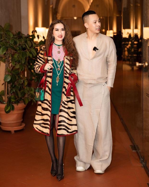Dự Milan Fashion Week mà không có Ngọc Trinh, Vũ Khắc Tiệp quẩy đồ tự tin lắm nhưng đẹp hay không thì chưa chắc à nha - Ảnh 1.