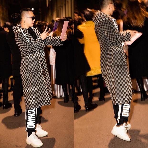 Dự Milan Fashion Week mà không có Ngọc Trinh, Vũ Khắc Tiệp quẩy đồ tự tin lắm nhưng đẹp hay không thì chưa chắc à nha - Ảnh 5.