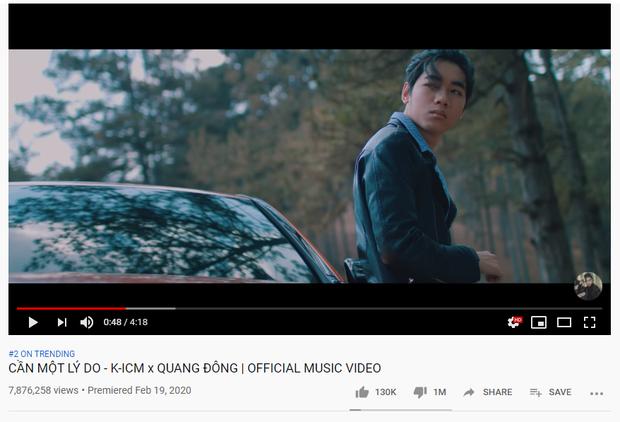 K-ICM lại làm nên lịch sử, trở thành nghệ sĩ Vpop đầu tiên có MV cán mốc 1 triệu lượt dislike! - Ảnh 1.