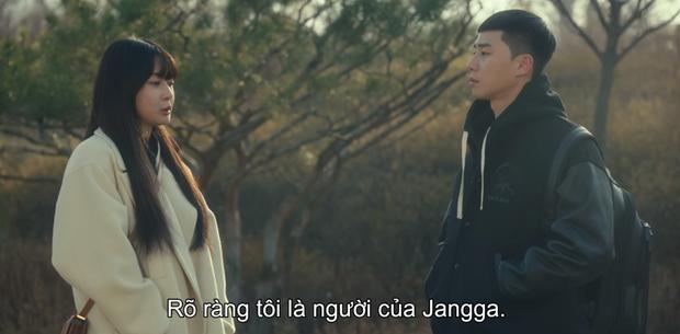 Hết lợi dụng đụng chạm Park Seo Joon, điên nữ Tầng Lớp Itaewon tuyên bố xử sạch kẻ nào dám sờ tới crush ở tập 7 - Ảnh 12.