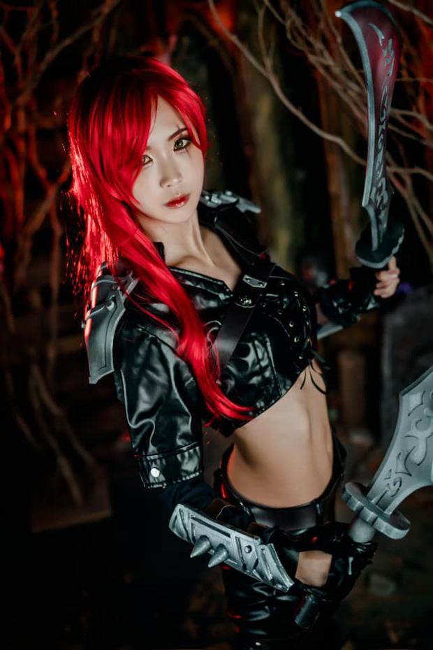 Tan chảy trước nhan sắc tuyệt trần của nữ cosplayer xứ Kim Chi, tái hiện lại những nhân vật ảo một cách quyến rũ và sống động - Ảnh 9.