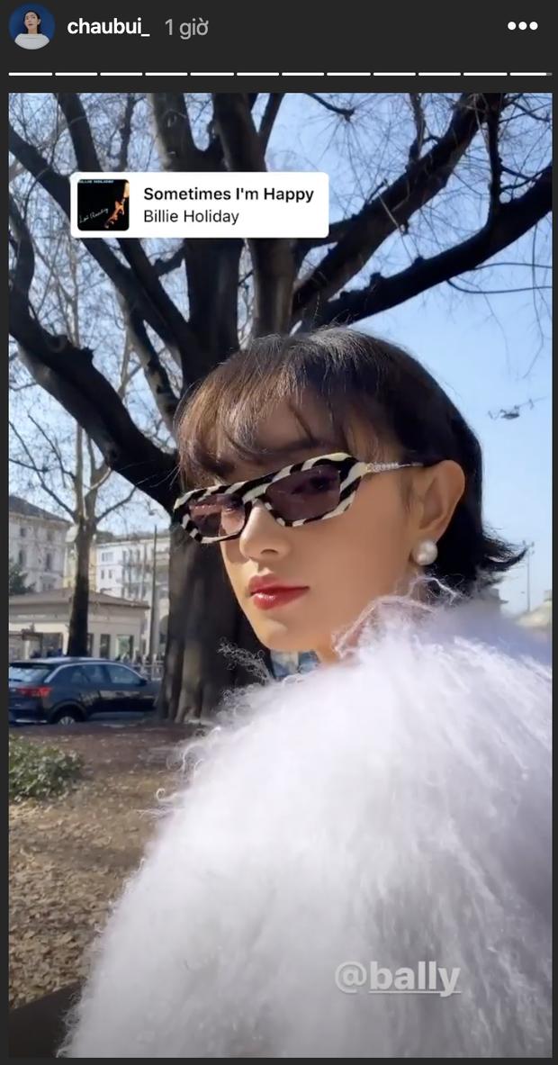 """Ơn giời Châu Bùi đã bái bai kiểu tóc ngố tàu, """"sửa sai"""" với tóc ngắn chanh sả thần thái trong ngày thứ 2 chạy show Milan Fashion Week - Ảnh 2."""
