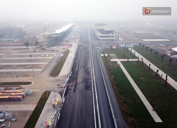 Cận cảnh đường đua F1 tại Hà Nội đang được gấp rút hoàn thành - Ảnh 11.