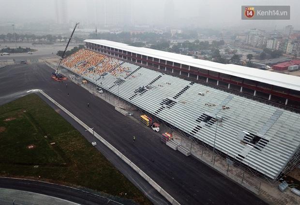 Cận cảnh đường đua F1 tại Hà Nội đang được gấp rút hoàn thành - Ảnh 13.