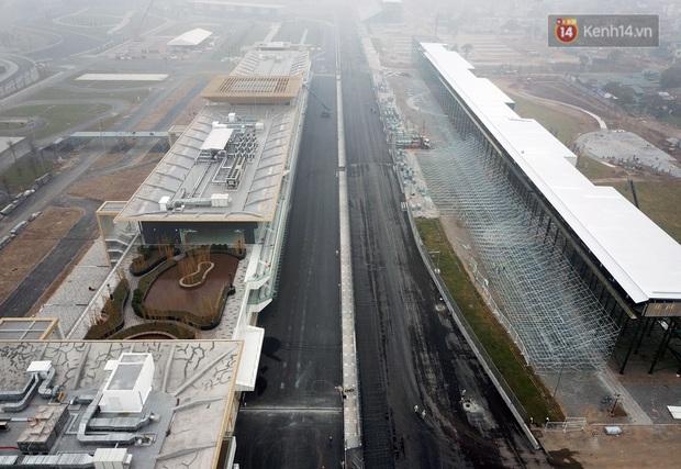 Cận cảnh đường đua F1 tại Hà Nội đang được gấp rút hoàn thành - Ảnh 8.