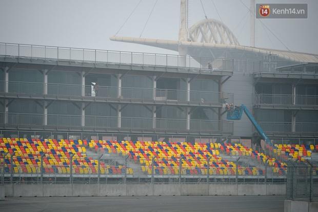 Cận cảnh đường đua F1 tại Hà Nội đang được gấp rút hoàn thành - Ảnh 17.