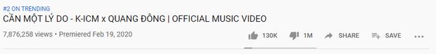 K-ICM lại làm nên lịch sử, trở thành nghệ sĩ Vpop đầu tiên có MV cán mốc 1 triệu lượt dislike! - Ảnh 2.