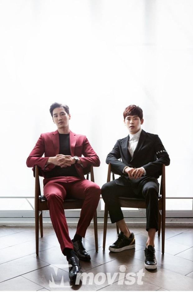Ác nam Tầng lớp Itaewon: Người mẫu body hot 1000 độ, thân với Song Joong Ki và chuyện thầm crush Song Hye Kyo - Ảnh 11.