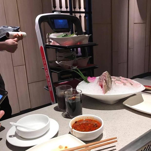 """Đi lòng vòng phục vụ đồ ăn nhưng chẳng ai quan tâm, chú robot Nhật Bản """"làm mặt dỗi"""" đáng yêu khiến dân mạng phát sốt - Ảnh 3."""