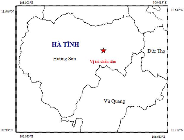 Động đất 2,7 độ richter xảy ra trong đêm ở Hà Tĩnh - Ảnh 1.