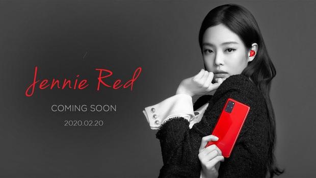 Lộ ảnh Jennie (Blackpink) siêu ngầu với Samsung Galaxy S20 màu đỏ mới toanh, không có trong event ra mắt - Ảnh 1.