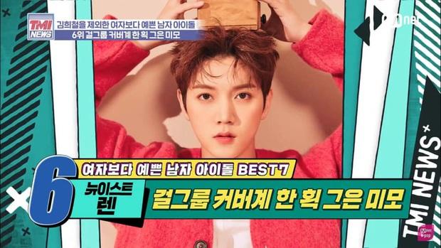 7 Idol nam được bình chọn đẹp hơn phái nữ: Người lạ của Sehun (EXO) dẫn đầu, V (BTS) xếp sau Cha Eunwoo - Ảnh 2.
