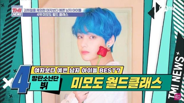 7 Idol nam được bình chọn đẹp hơn phái nữ: Người lạ của Sehun (EXO) dẫn đầu, V (BTS) xếp sau Cha Eunwoo - Ảnh 7.