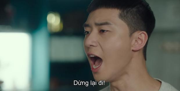 Lại trầm trồ pha đập bàn chơi lớn Tầng Lớp Itaewon tập 8 của Park Seo Joon: Tôi cũng mua một toà nhà là xong chứ gì! - Ảnh 2.