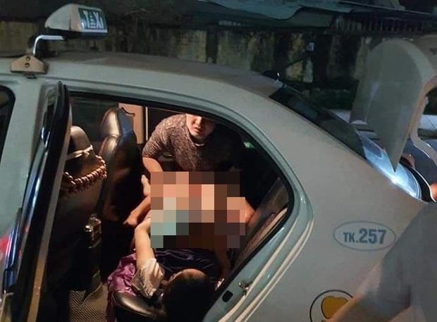 Nam tài xế đỡ đẻ thành công cho sản phụ trẻ ngay trên xe taxi - Ảnh 1.