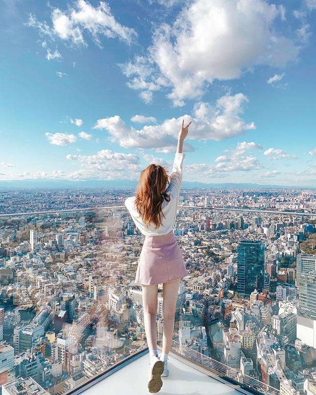 """""""Thang cuốn lên thiên đường"""" hot nhất Nhật Bản: hội mê chụp choẹt sẵn sàng chi bội tiền để chiêm ngưỡng toàn cảnh khu phố từ trên cao - Ảnh 2."""