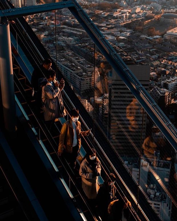 """""""Thang cuốn lên thiên đường"""" hot nhất Nhật Bản: hội mê chụp choẹt sẵn sàng chi bội tiền để chiêm ngưỡng toàn cảnh khu phố từ trên cao - Ảnh 1."""