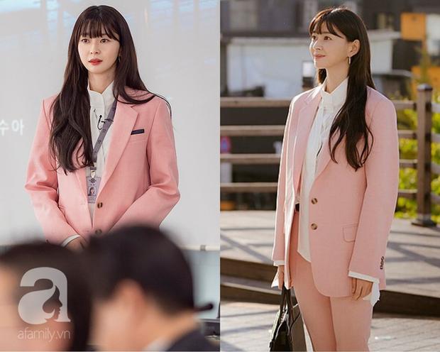 Mỹ nhân diện đồ công sở đẹp nhất màn ảnh Hàn đợt này hẳn là Soo Ah của Itaewon Class: Ăn vận đơn giản mà độ sang xịn có thừa - Ảnh 1.