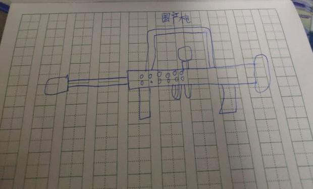 Game thủ 7 tuổi vẽ lại hệ thống vũ khí trong PUBG khiến cư dân mạng há mồm ngã ngửa - Ảnh 3.