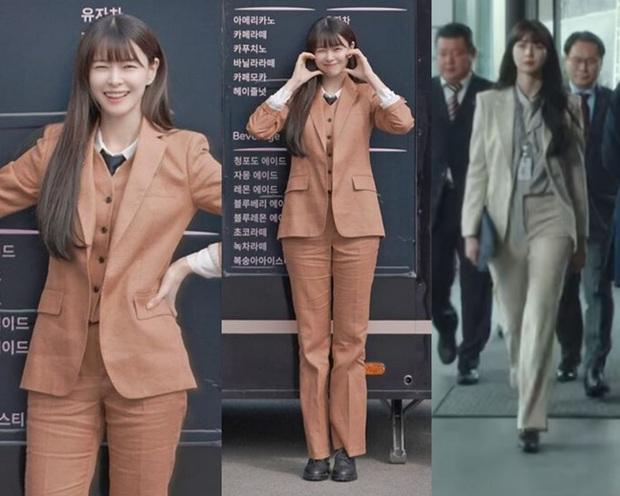 Mỹ nhân diện đồ công sở đẹp nhất màn ảnh Hàn đợt này hẳn là Soo Ah của Itaewon Class: Ăn vận đơn giản mà độ sang xịn có thừa - Ảnh 3.