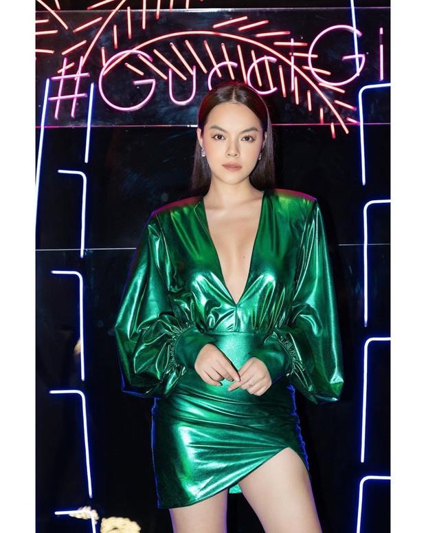 Tự nhiên đã có của nả nhưng Phạm Quỳnh Anh vẫn nhờ đến tuyệt kỹ để vòng 1 thêm sexy - Ảnh 4.