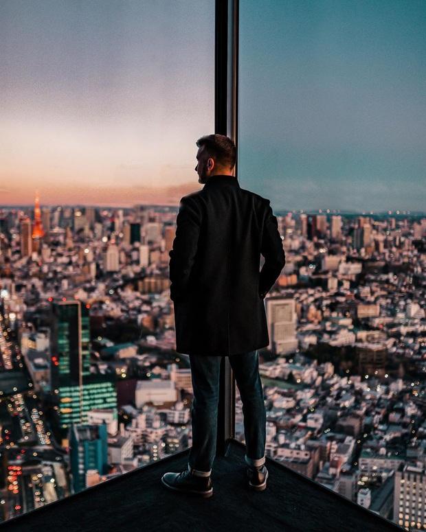 """""""Thang cuốn lên thiên đường"""" hot nhất Nhật Bản: hội mê chụp choẹt sẵn sàng chi bội tiền để chiêm ngưỡng toàn cảnh khu phố từ trên cao - Ảnh 3."""