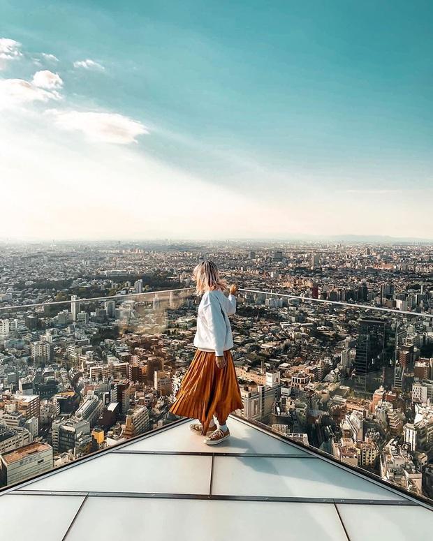 """""""Thang cuốn lên thiên đường"""" hot nhất Nhật Bản: hội mê chụp choẹt sẵn sàng chi bội tiền để chiêm ngưỡng toàn cảnh khu phố từ trên cao - Ảnh 10."""