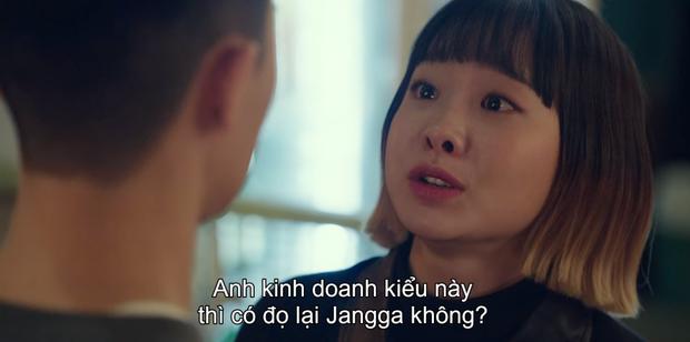 Lại trầm trồ pha đập bàn chơi lớn Tầng Lớp Itaewon tập 8 của Park Seo Joon: Tôi cũng mua một toà nhà là xong chứ gì! - Ảnh 7.