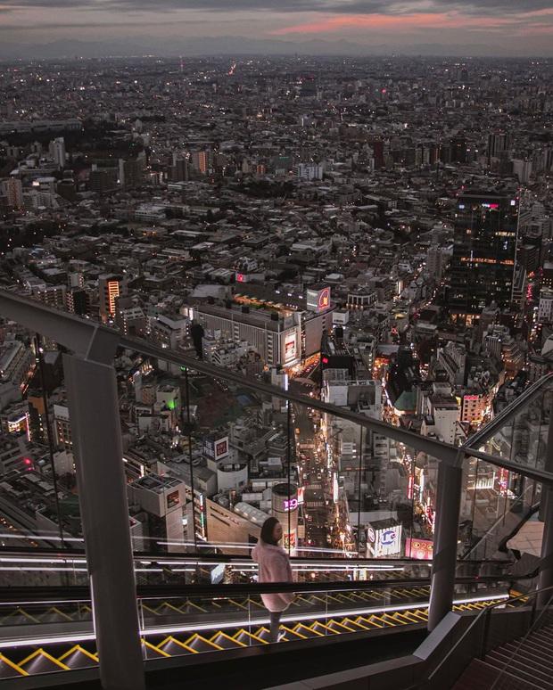 """""""Thang cuốn lên thiên đường"""" hot nhất Nhật Bản: hội mê chụp choẹt sẵn sàng chi bội tiền để chiêm ngưỡng toàn cảnh khu phố từ trên cao - Ảnh 13."""