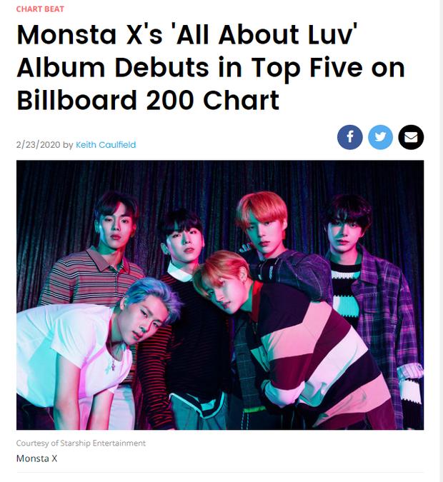 MONSTA X lần đầu tiến vào Billboard 200 sau 5 năm ra mắt, vượt cả EXO lẫn BIGBANG nhưng nhờ đâu lại leo cao được đến thế? - Ảnh 3.