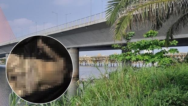 Thi thể phụ nữ bị mất đầu, đang phân hủy mạnh trôi dạt vào bờ biển Đà Nẵng - Ảnh 1.