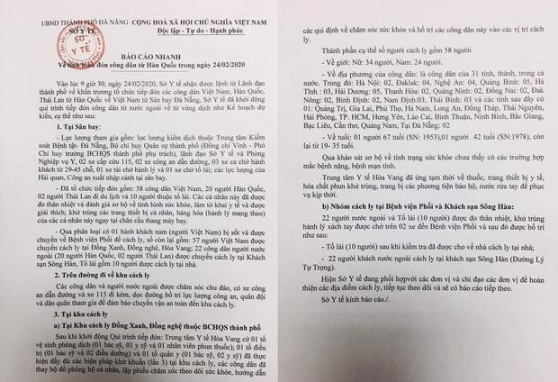 Vụ 80 người từ tâm dịch Daegu đến Đà Nẵng: 1 nam thanh niên bị sốt, 20 khách Hàn Quốc tạm chấp nhận cách ly tại bệnh viện - Ảnh 3.