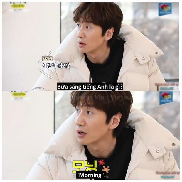 Nếu hỏi Lee Kwang Soo bữa sáng tiếng Anh là gì thì câu trả lời sẽ là:... Morning - Ảnh 8.
