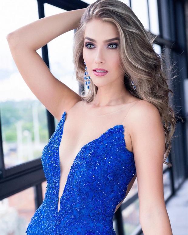 Những đối thủ đầu tiên của Khánh Vân tại Miss Universe 2020: Toàn chiến binh mạnh, đại diện Ấn Độ xứng đáng phải dè chừng! - Ảnh 9.