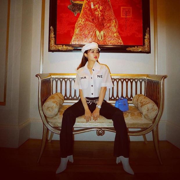 Vợ đại gia Minh Nhựa bắt trend hơi chậm, chẳng ngại so kè style từ Phượng Chanel đến Jennie - Ảnh 2.