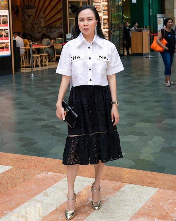 Vợ đại gia Minh Nhựa bắt trend hơi chậm, chẳng ngại so kè style từ Phượng Chanel đến Jennie - Ảnh 3.