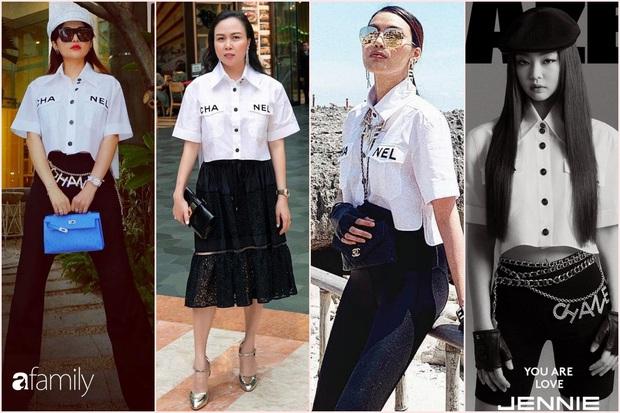 Vợ đại gia Minh Nhựa bắt trend hơi chậm, chẳng ngại so kè style từ Phượng Chanel đến Jennie - Ảnh 7.
