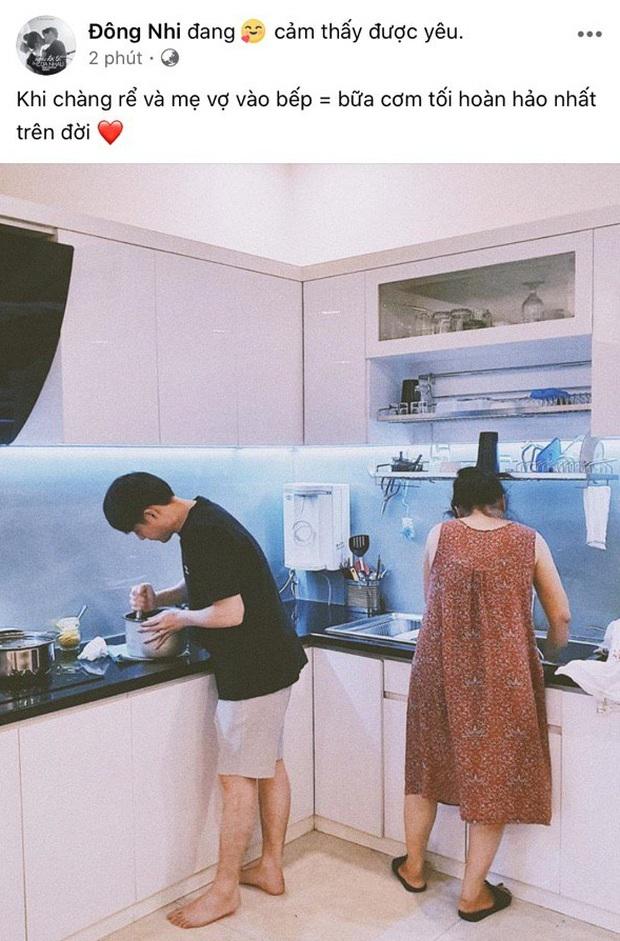 Ông Cao Thắng đúng chuẩn ông chồng kiểu mẫu: Xắn tay vào bếp nấu ăn, chưa biết kết quả ra sao nhưng đã đủ ghi điểm bởi độ chiều vợ hết mức - Ảnh 2.