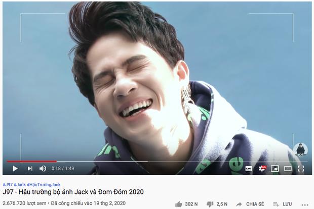 Jack đạt kỷ lục nút Vàng nhanh nhất Việt Nam chỉ trong 1 tuần, clip lộ 1/3 gương mặt cũng tóm hơn 7 triệu view..., sức mạnh fandom quả nhiên không đùa được! - Ảnh 6.