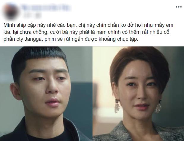 Dẹp hết bánh bèo - điên nữ đi, fan Tầng Lớp Itaewon đang ship kịch liệt Park Seo Joon với nữ tổng tài cho chóng lên đời! - Ảnh 1.
