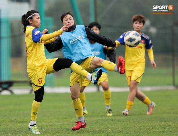 HLV Park Hang-seo thảnh thơi dắt chó cưng đi dạo, cổ vũ tuyển nữ Việt Nam tập luyện chiều 25/2 - Ảnh 8.